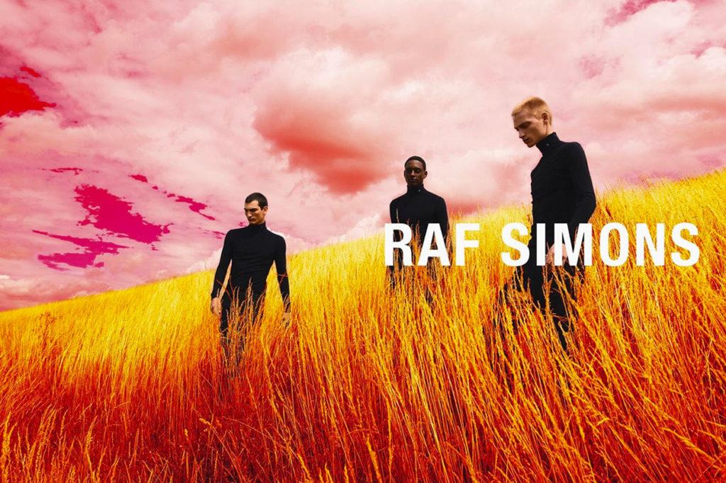Campagne Raf Simon Automne/Hiver 2020