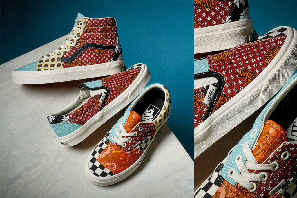 Pack Vans Tiger Patchwork