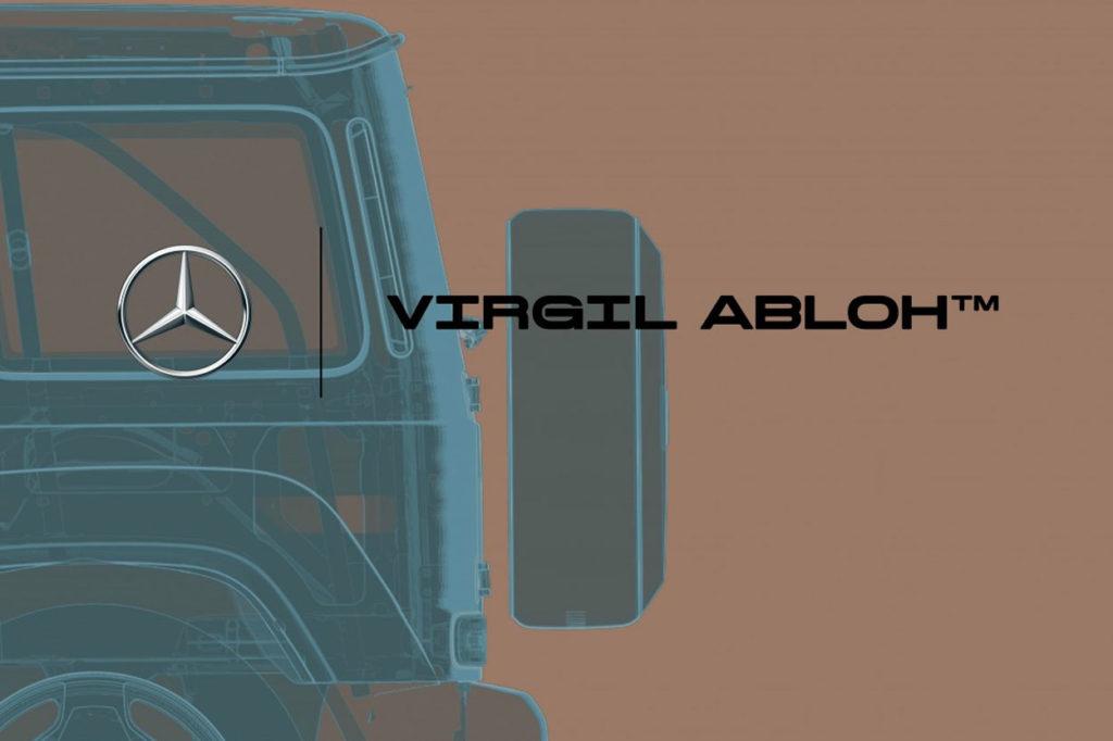 Mercedes-Benz et Virgil Abloh annoncent leur collaboration
