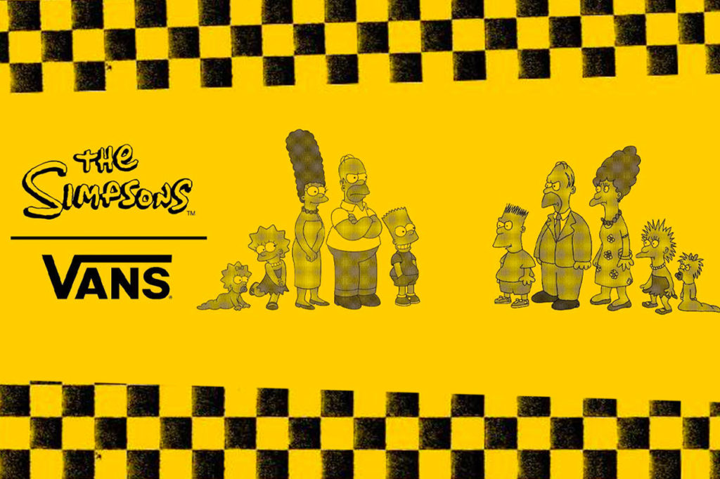 Collection The Simpsons x Vans