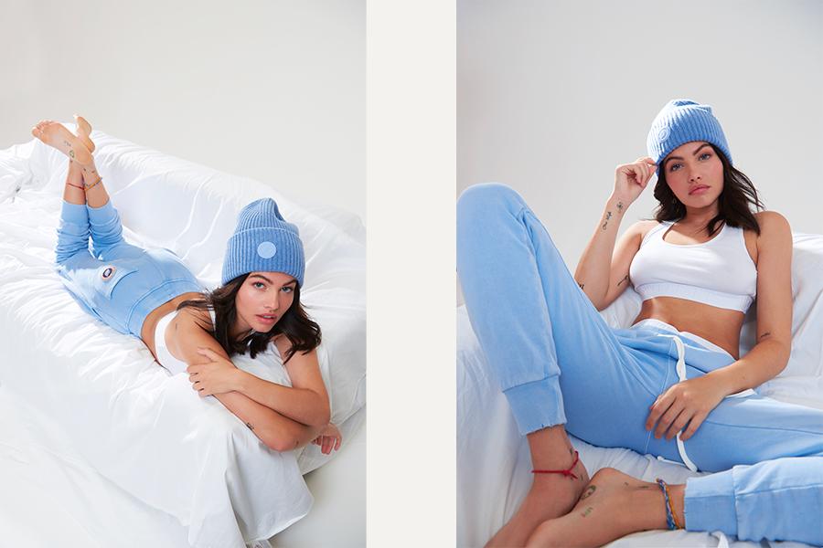 Campagne Thylane Blondeau x Sweet Pants