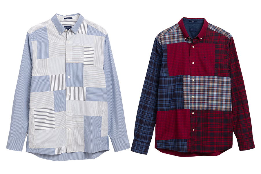 Collection Gant chemises upcyclées