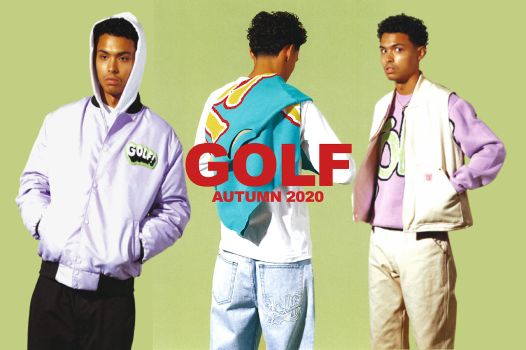 Lookbook collection GOLF WANG Hiver 2020/2021