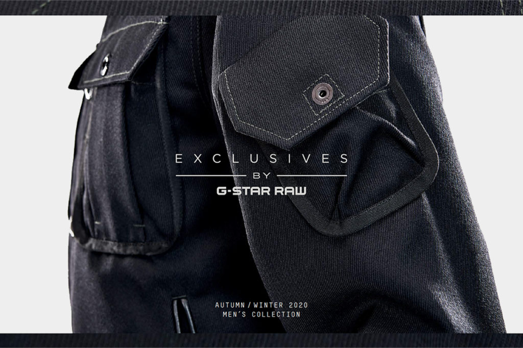 "Collection G-Star RAW ""Exclusives"" Automne/Hiver 2020"