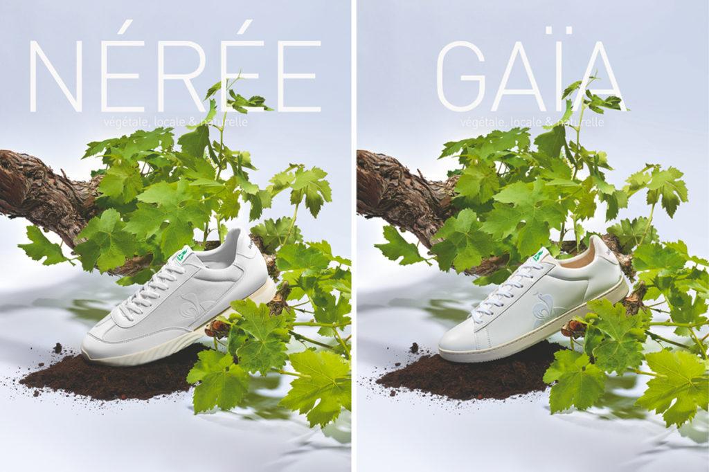 le coq sportif dévoile sa ligne de sneakers végétale