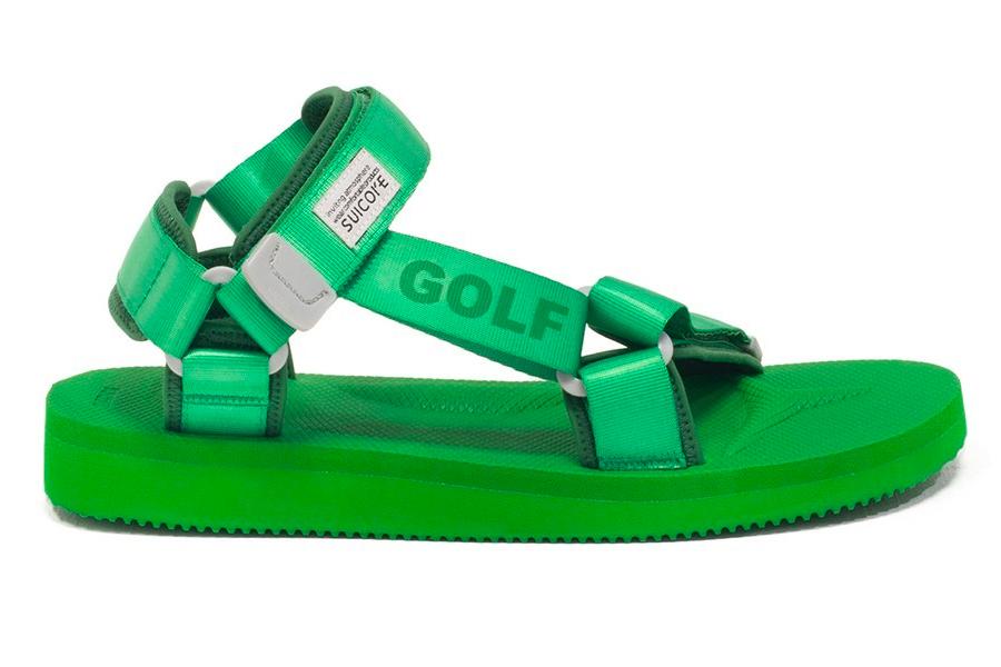 Nouvelles sandales Suicoke x GOLF WANG