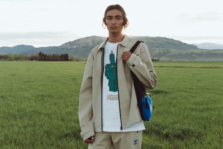 """Collection éco-responsable PUMA x The Hundreds """"A Hopeful Future"""""""