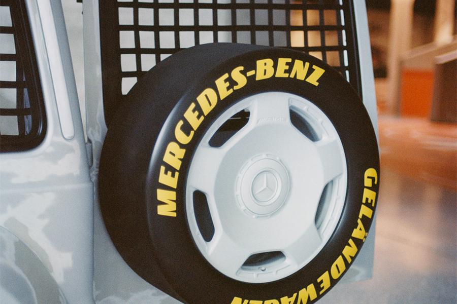 Mercedes-Benz et Virgil Abloh dévoilent le projet Geländewagen