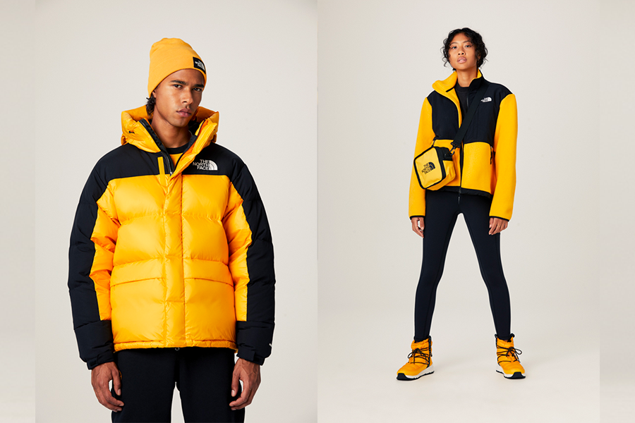 The North Face Yellow Icons