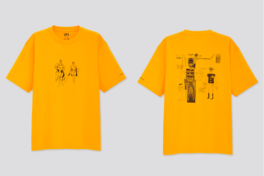 Collection Uniqlo UT x Jean-Michel Basquiat x Warner Bros.