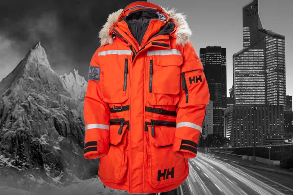 Helly Hansen dévoile sa parka Arctic Patrol Modular