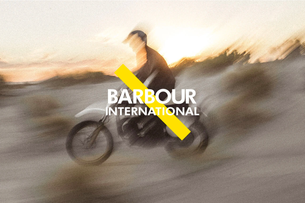 Collection capsule Barbour International x Saturdays NYC