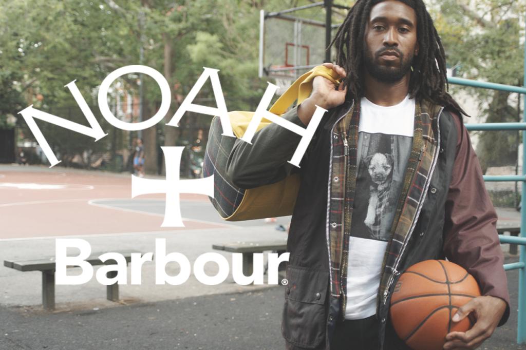Barbour dévoile une collaboration avec Noah pour l'Automne/Hiver 2020
