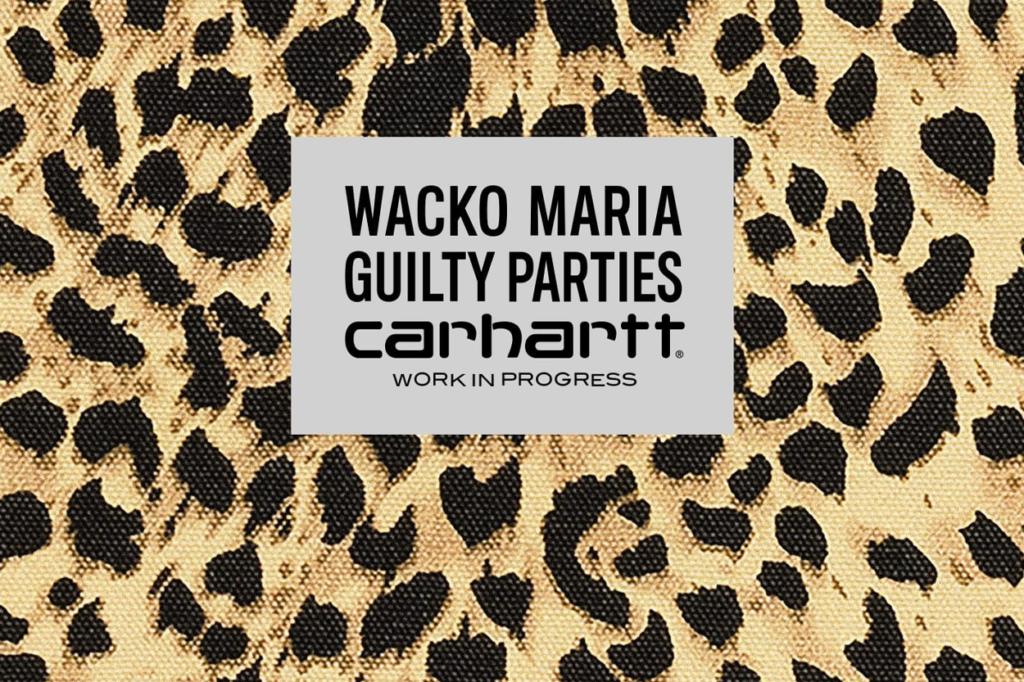 Collection capsule Carhartt WIP x WACKO MARIA