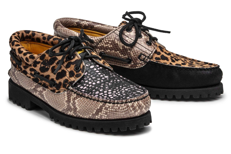 "Collection capsule Chinatown Market x Timberland Boat Shoe ""Animal Print"""