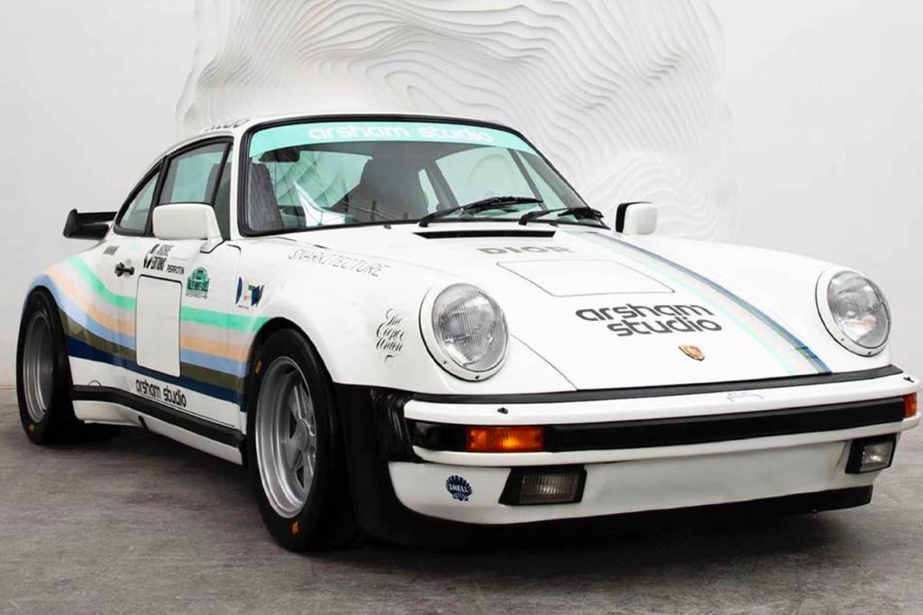 La Porsche Turbo 930A par Daniel Arsham