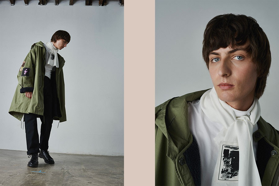 Collection Fred Perry x Raf Simons Automne/Hiver 2020