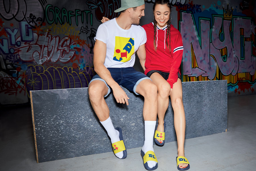 LIDL va sortir sa collection de vêtements et sneakers en France