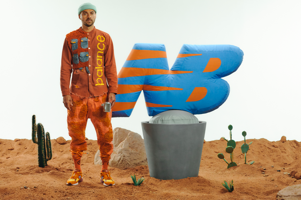 "Collaboration Salehe Bembury x New Balance 2002R ""Peace be the Journey"""