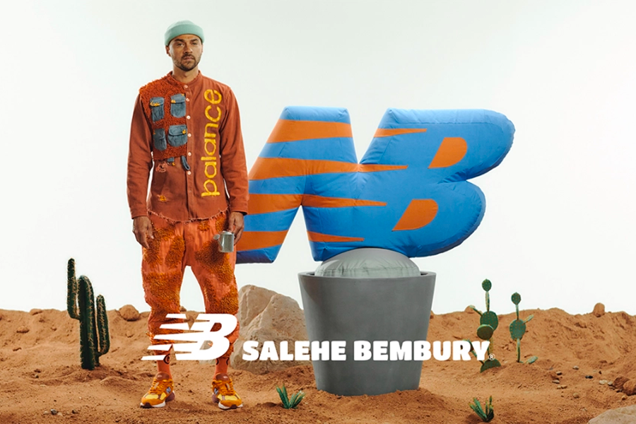 "Collaboration Salehe Bembury x New Balance 2002R ""Peace be the Journey"""
