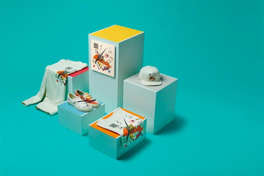 Vans s'associe avec le MoMA pour une collection arty   Viacomit