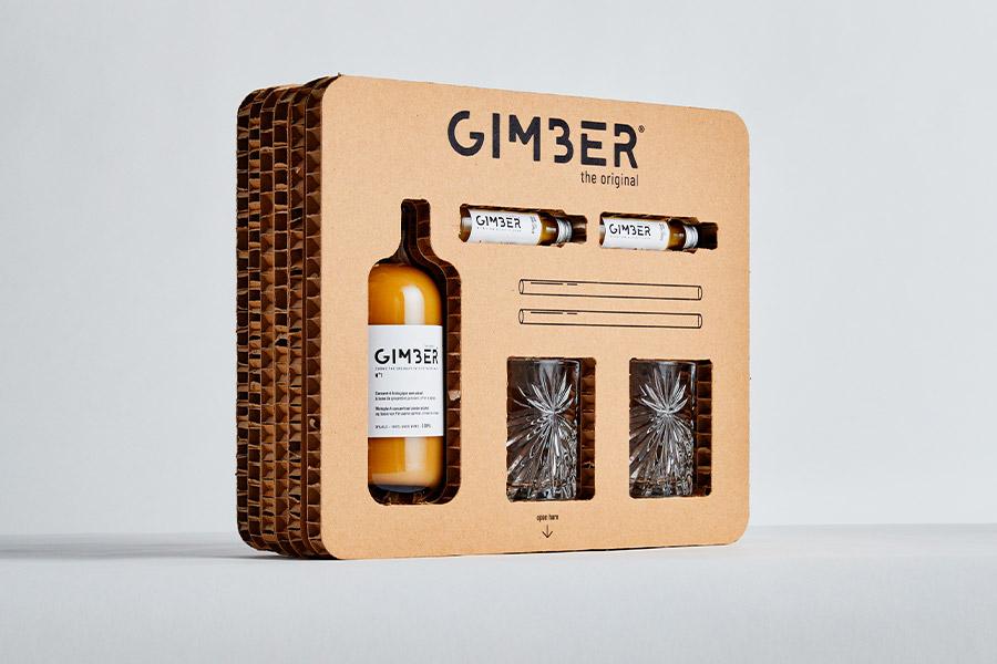 GIMBER, la nouvelle boisson sans alcool 100% naturelle