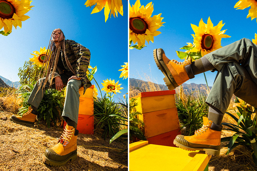 Bee Line for Billionaire Boys Club revisite la bottine classique de Timberland