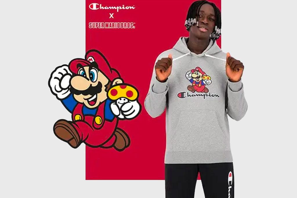 Champion x Super Mario Bros
