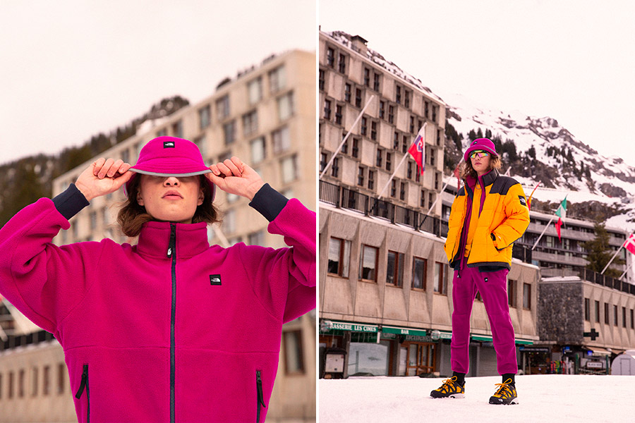 """Collection capsule The North Face """"Snow Rogue"""""""
