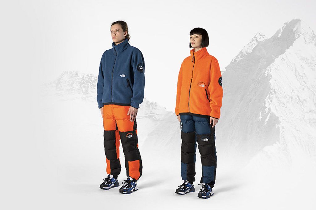 "Collection capsule The North Face ""Ascent '87 Expedition System"""