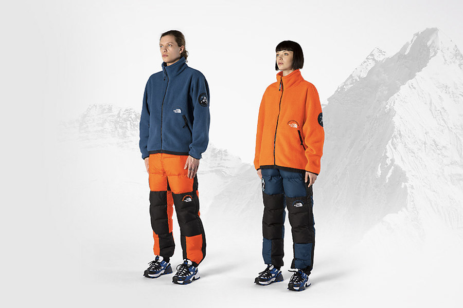 """Collection capsule The North Face """"Ascent '87 Expedition System"""""""