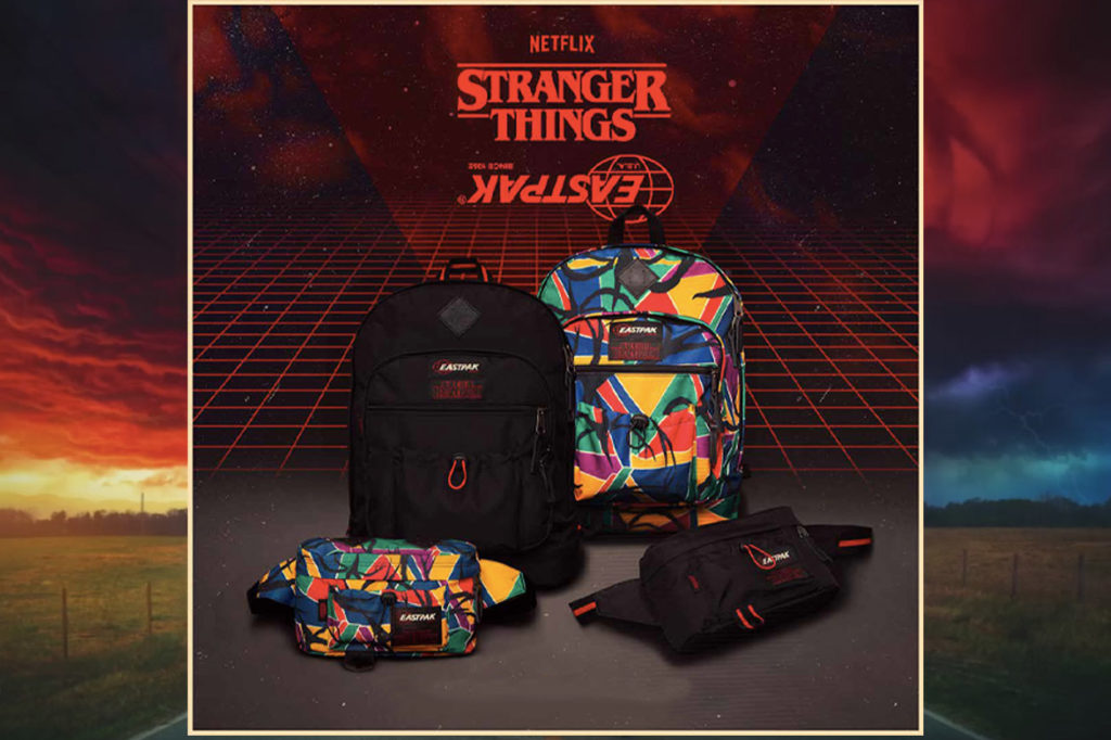 Collection rétro Eastpak x Stranger Things