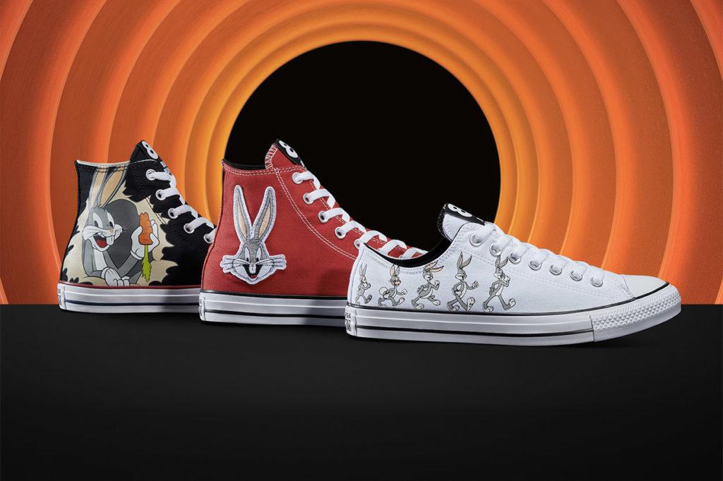 Converse et Looney Tunes célèbrent le 80ème anniversaire de Bugs Bunny avec une collection spéciale