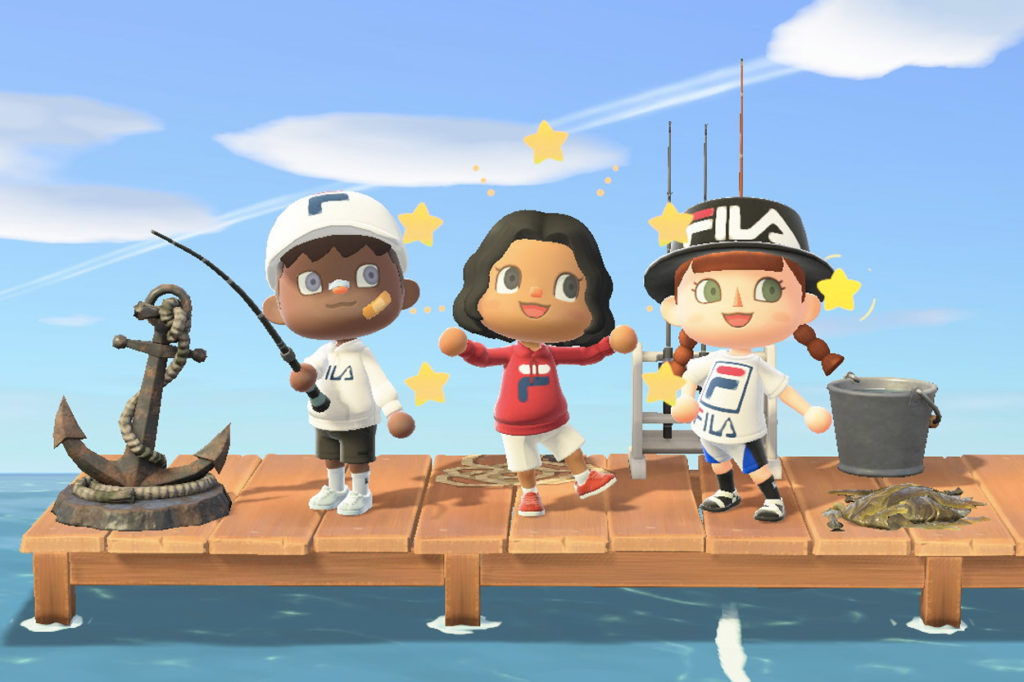 FILA x Nook Street Market x Animal Crossing: New Horizons