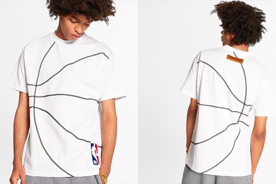 Collection capsule NBA x Louis Vuitton signée Virgil Abloh