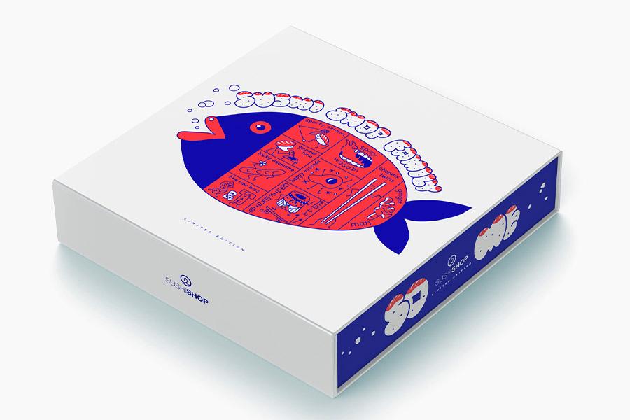 Box édition limitée Sushi Shop x So Me