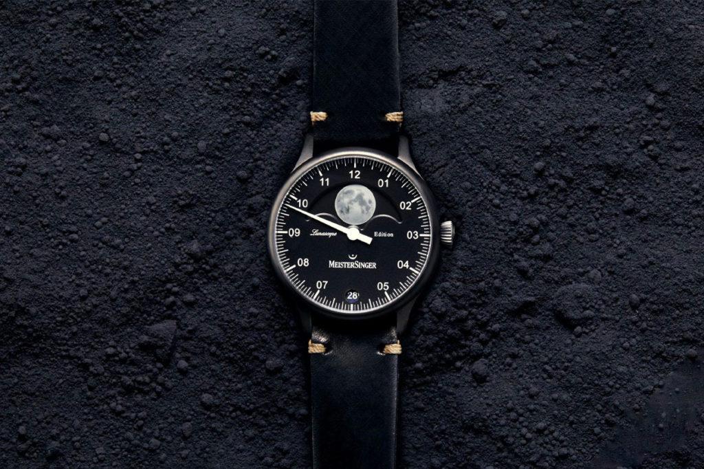 Montre MeisterSinger Lunascope Spéciale France Full Black