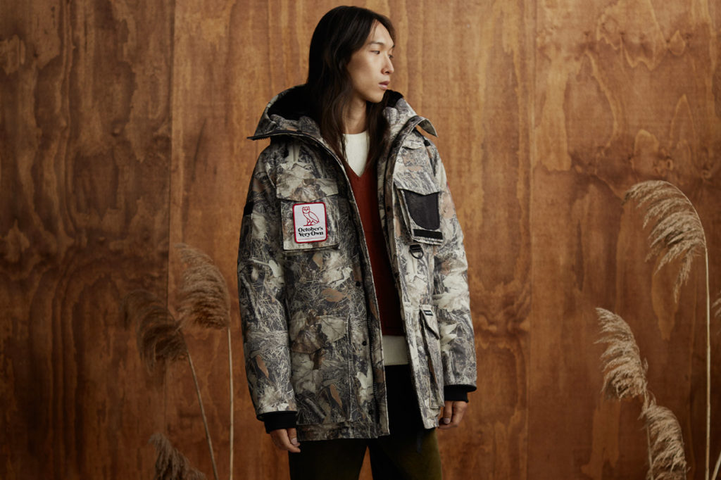 Collection Canada Goose x October's Very Own Hiver 2020