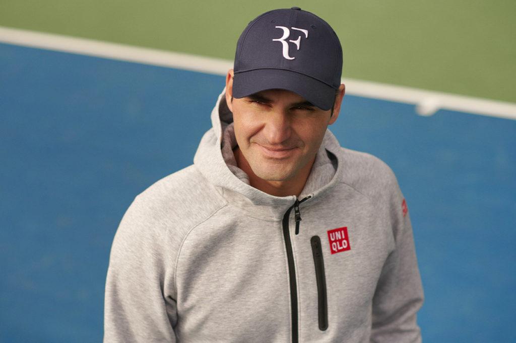Casquettes Uniqlo x Roger Federer