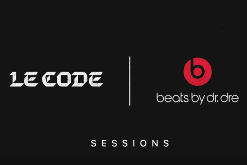 LE CODE sessions avec Beats