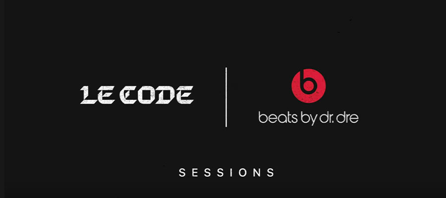 LE CODE sessions avec Beats