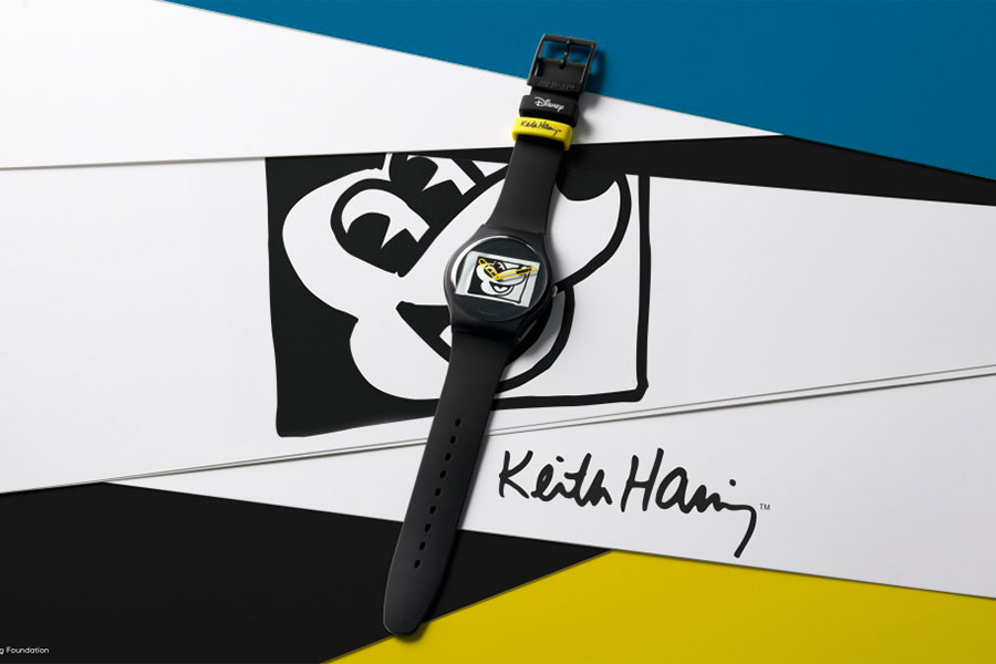 Collection Mickey Mouse x Keith Haring par Swatch