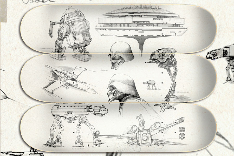 Element x Star Wars 40ème anniversaire