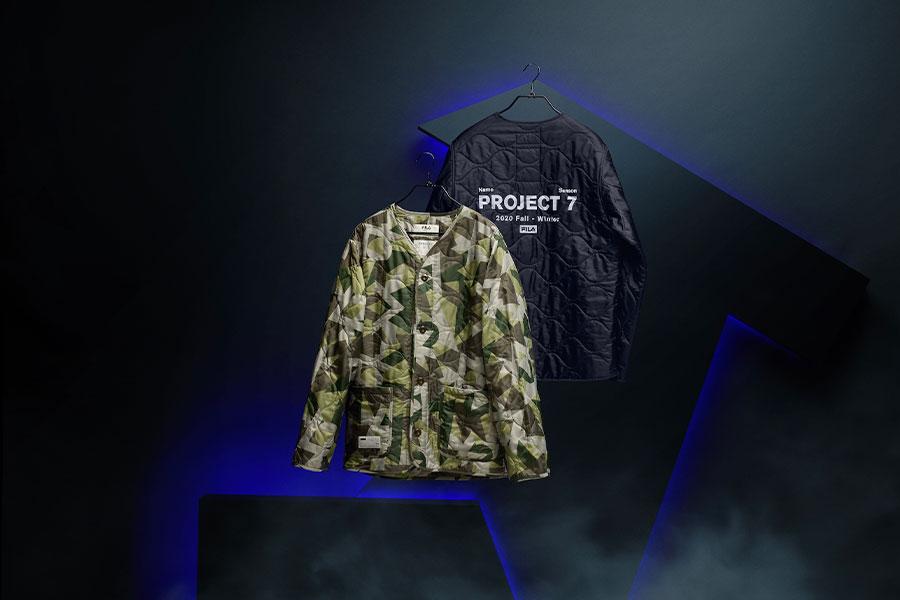 """FILA lance la collection """"Projet 7"""" avec BTS"""
