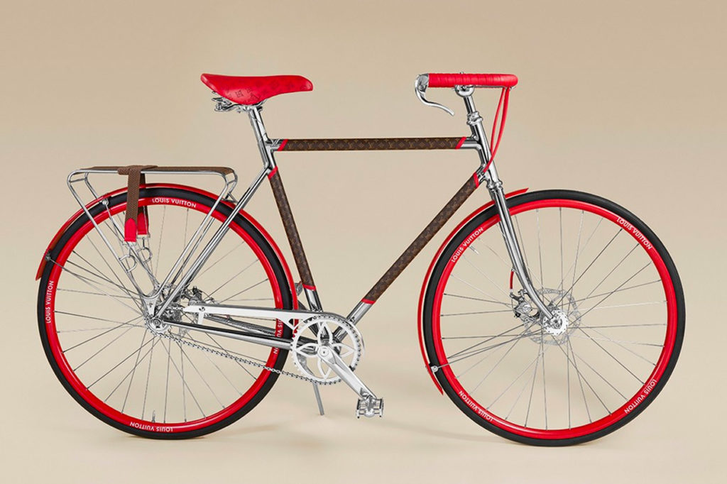 "Louis Vuitton x Maison TAMBOITE ""LV Bike"""