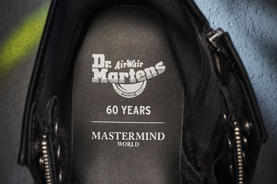 """Mastermind WOLRD x Dr. Martens """"1460 Remastered"""""""
