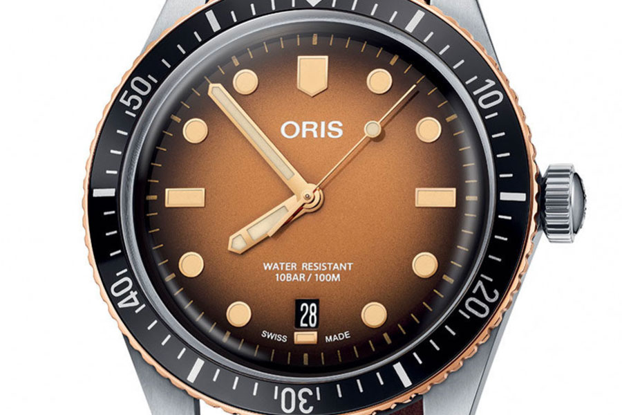 "Montre Oris Divers Sixty-Five ""Sunset Over the Beach"""