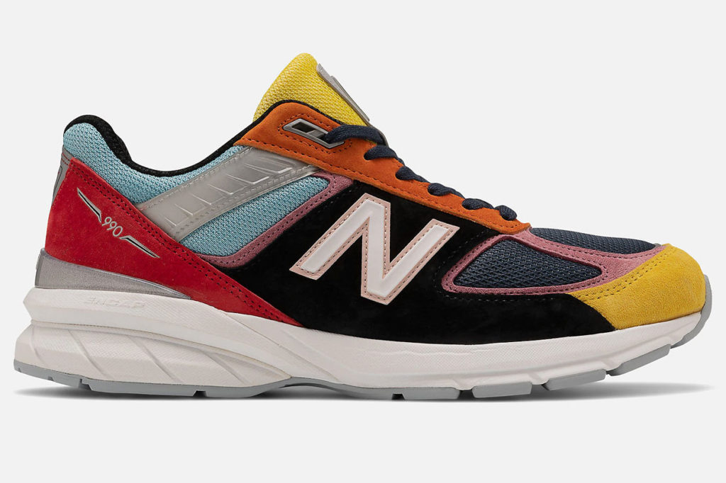 Kawhi Leonard et New Balance lancent une 990v5 multicolore
