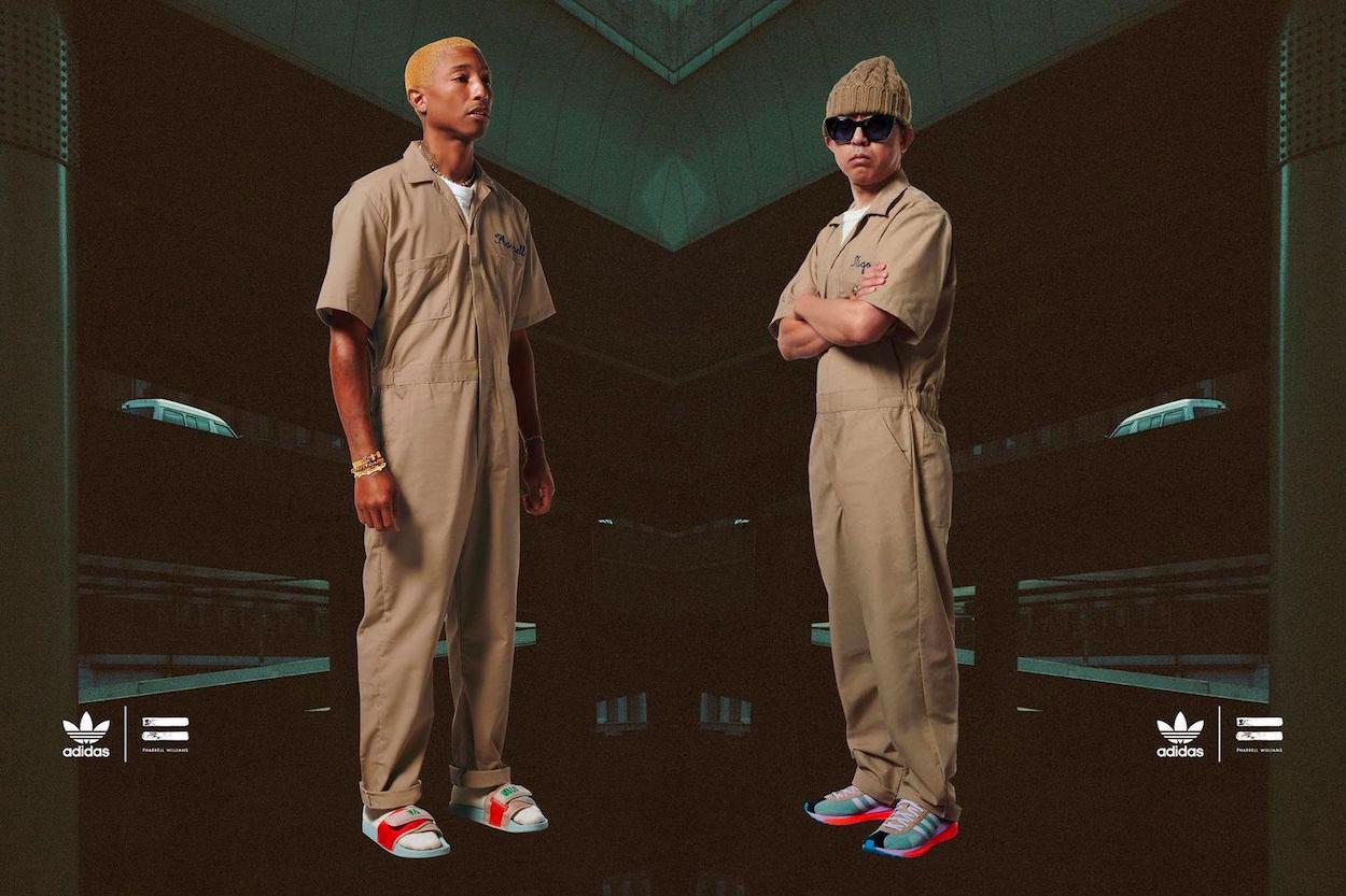 "Pharrell Williams et NIGO célèbrent leur amitié avec le pack adidas Originals ""Friendship"""