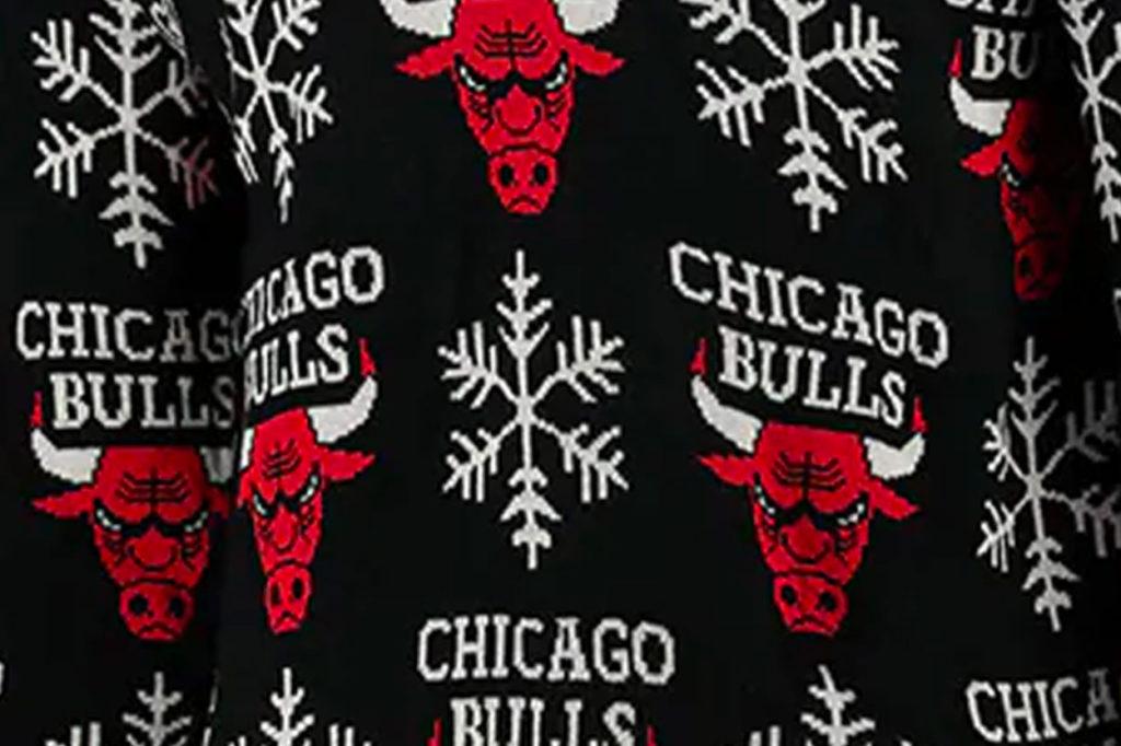 NBA Christmas Snowflake Jumper 2020